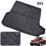 REEMILY Fit For BMW X3 E83 2004-2010 Rear Trunk Liner Boot Cargo Mat Tray Floor Carpet Mud Kick Protector 2005 2006 2007 2008 2009