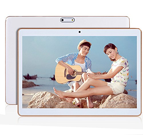 Tablet Octa Core 2560X1600 IPS Bluetooth RAM 4GB ROM 64GB 8.0MP 3G Dual SIM Card Phone Call Tablet PC Android 5.1 GPS Electronics 7 9 10 10.6 White