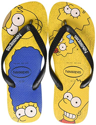 Havaianas Simpsons, Infradito Unisex-Adulto, Multicolore (Yellow Banana/Black 1083), 39/40 EU