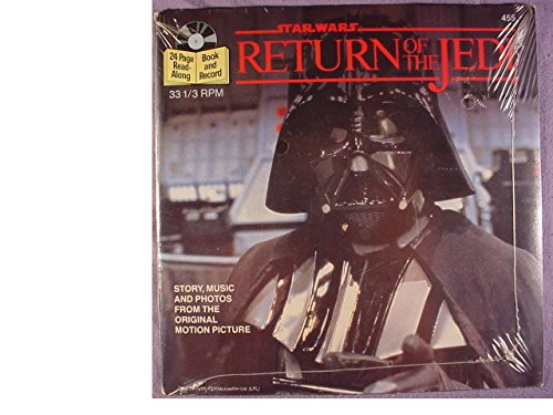 Star Wars RETURN OF THE JEDI book and record