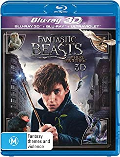 Fantastic Beasts and Where to Find Them (3D Blu-ray/Blu-ray) (B01N3AXMPN) | Amazon price tracker / tracking, Amazon price history charts, Amazon price watches, Amazon price drop alerts