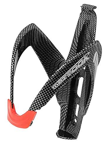 Portaborraccia per bici Mountain Bike da Corsa MTB Supporto Stile Fibra di Carbonio City Carboon Look, ultraleggero e resistente