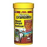 JBL NovoGranoMix 30102 Aliments Complets pour Grands Poissons d'Aquarium, Recharge de Granulés, 250 mL