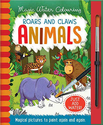 Roars and Claws - Animals (Magic Water Colouring)