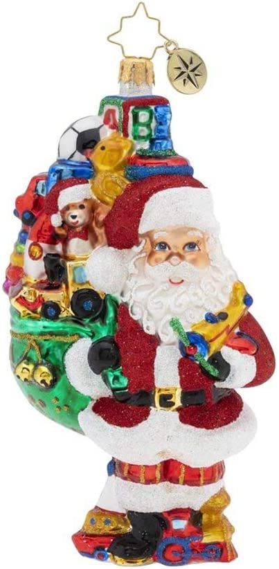 Christopher We OFFer at cheap prices Radko Sales results No. 1 Hand-Crafted European Christmas Glass Decorati