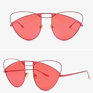 JHLD Cat Eye Sunglasses Women Irregular Glasses Personality Beach Summer UV Protection Female