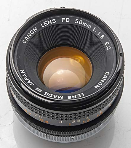 Canon Lens FD 50mm 50 mm S.C 1:1.8 1.8 - A-1 at-1 T70 AE-1 F-1 FE