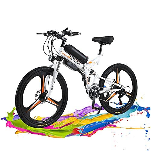 Hyuhome Vélo électrique Pliable Vélo De Montagne électrique pour Adultes 250W, 26 Pouces Velo...