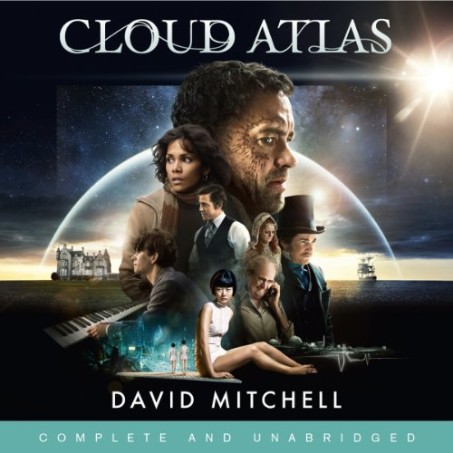Cloud Atlas                   By:                                                                                                                                 David Mitchell                               Narrated by:                                                                                                                                 Garrick Hagon,                                                                                        Jeff Harding,                                                                                        Steve Hodson,                   and others                 Length: 21 hrs and 27 mins     914 ratings     Overall 4.0