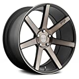 Niche M150 Verona 19x8.5 5x114.3 +35mm Black/Machined Wheel Rim