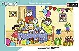 Nathan 4005556860708 - Puzzle con Marco (15 Piezas), diseño de T'choupi