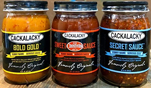 Cackalacky Cookout Trio (Sweet, Secret and Bold Gold sauces)