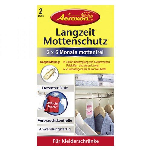 2 x Aeroxon mottenfrei longue durée protection anti-mites