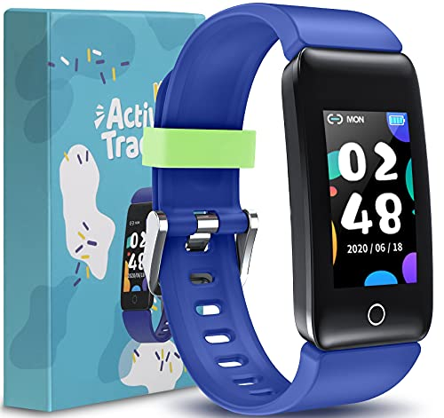 CareUAll Kids Fitness Tracker, Fitness Watch with Pedometer, Activity...