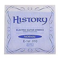 HISTORY HEGSN010 エレキギター弦 E-1st .010 バラ弦1本 (ヒストリー)