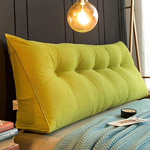 Triángulo Tridimensional Cama Grande Cojín Cojín Grande Sofá Sofá Protector de Cintura Trasera Puede ser Utilizado para el sofá de la Cama Cushion Bay Window Tatami,2,60cm