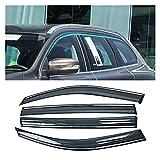 Auto Autofenster Regenschutz Autofenster Sun Rain Shade Shield Shelter Protector Cover Zubehör Für...