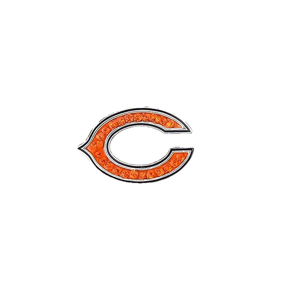 Season Jewelry NFL Chicago Bears Crystal Logo Ring
