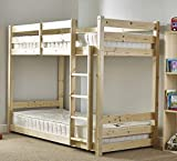 Strictly Beds and Bunks - Low Classic Bunk Bed, 3ft Single