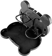 Baoblaze Auto Foldable Seat Back Organizer Table Comida - Preto