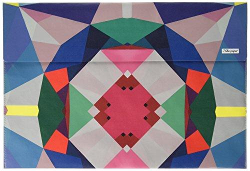 I als paper Geometrical4 33 cm (13 inch) Tyvek Case voor Macbook Air/Pro