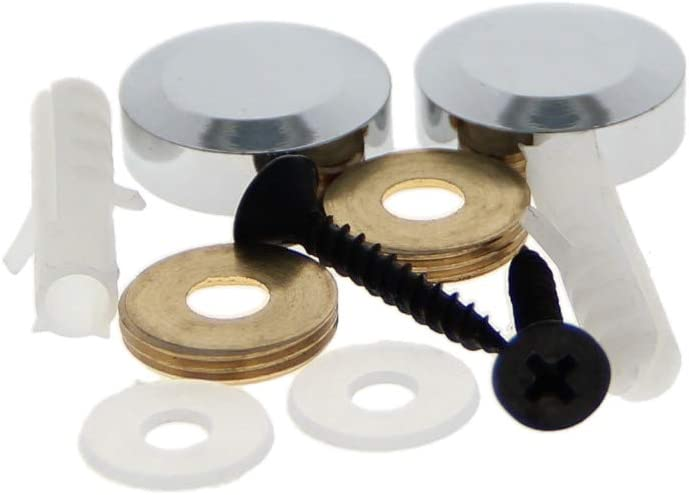 MroMax 2PCS Mirror Screw 67% OFF of fixed price Decorative Special price Nail Cap 0.79