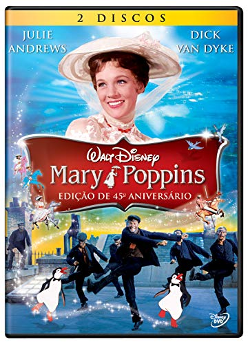 Mary Poppins Edição De 45º Aniversário [DVD] Duplo