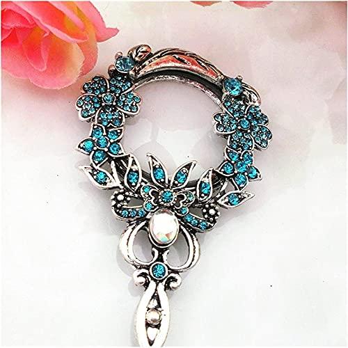 DHFUIH Collar de Cristal Colgante Collar Colgante de Regalo de cumpleaños de Cristal Blanco (Color: Blanco)