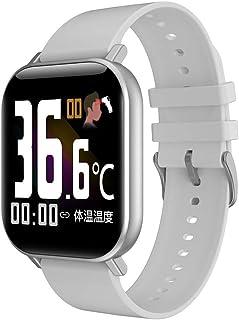 KIRA Smartwatch Pulsera De Actividad con Pulsómetro Reloj Fitness con Podómetro Blood Pressure, Sueño,podómetro,monitoreo De Inmunidad para Android Y iOS Teléfono Móvil