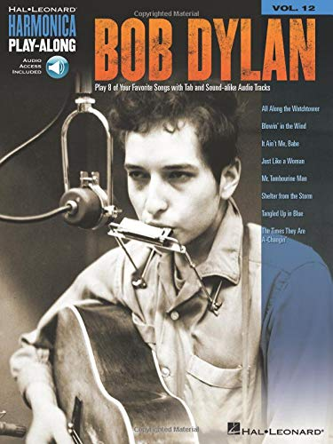 Harmonica Play-Along Volume 12: Bob Dylan (Book/Online Audio)
