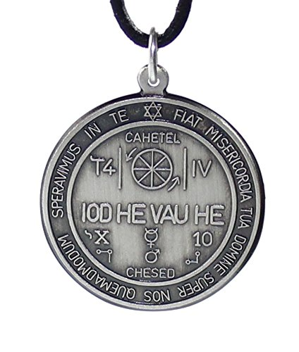 budawi® - Amulett Magischer Kreis Anhänger 925er Silber