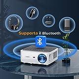 Zoom IMG-2 yaber proiettore wifi 8000 lumens