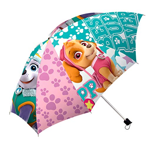 Disney – Pat Patrol Skye Faltbarer Regenschirm, PW16134