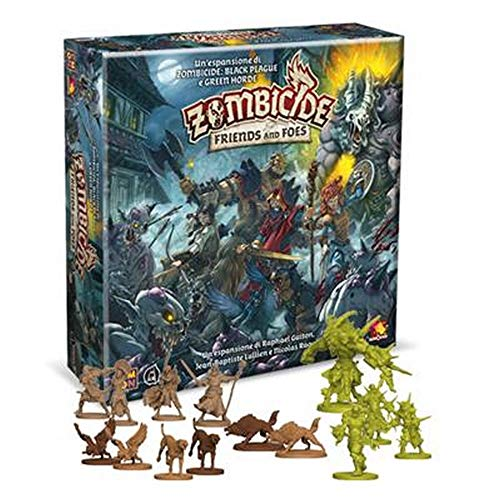 Asmodee Italia Zombicide Green Horde-Friends and Foes, Juego de ...