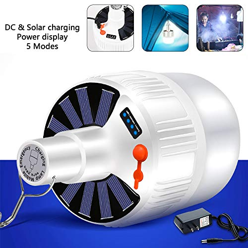Solar LED Oplaadlamp Energie besparende Lamp Frame Nachtmarkt Lamp Mobiele Outdoor Camping Power Outage Noodlamp