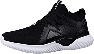 Men's Shoes Dooior Fashion Casual Lightweight Breathable Sneakers Running Lace-Up Sport Athletic Walking Shoes