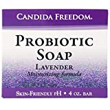 Massey's CF 100% Natural Probiotic Soap - Powerful Tea Tree and Lavender Body Soap - 4oz Lavender Scent