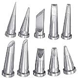 Werse 10 Stücke Lötkolben Tipps für Weller WSD81 WSP80 WD1000