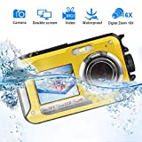 Waterproof Camera Underwater Camera for Snorkeling Full HD 1080P 24.0 MP Waterproof...