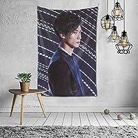 2021タペストリー 三浦春馬/みうらはるま Miura Harumaファッションの絶妙な印刷リビングルームの入り口寝室の背景壁の装飾カスタマイズされた壁掛け布 (60 * 40inch)