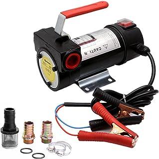 ZIEM 550W 24V Small Electric Oil Pumps Portable D-iesel K-erosene Oil Pumps Pure Copper Motor Household Utility Refueling ...