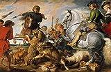 Get Custom Art Peter Paul Rubens–Wolf und Fox Hunt