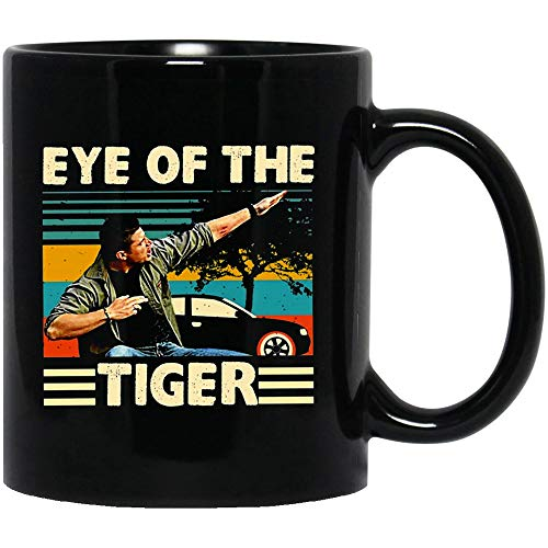 NovemberGlory Vintage Eye of The Tiger Dean #Winchester #Supernatural Family Carry On My #Wayward Son Mugs Coffee or Tea