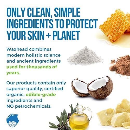 Waxhead HUGE Zinc Oxide Sunscreen Face Stick - 4 Ingredients. Biodegradable Sunscreen, Surfing Sunscreen, Organic Sunscreen Kids, Baby Safe Sunscreen, Tattoo Sunscreen, EWG Rated 1 (SPF 30, White)