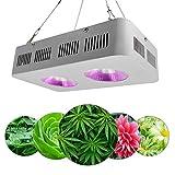 200W / 400W / 800W LED wachsen Lampe, einzigartiges Reflektor-Design UV-IR-Gewächshauslampen für Zimmerpflanzen, Vollspektrum-Pflanzenlichter für Zimmerpflanzen Veg und Blumenhydroponik,B