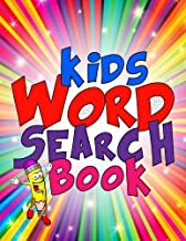 """Kids Word Search Book: 50 Large Print Kids Word Find Puzzles: Jumbo Word Seek Book (8.5""""x11"""") For Kids Age 6,7,8,9-12"""