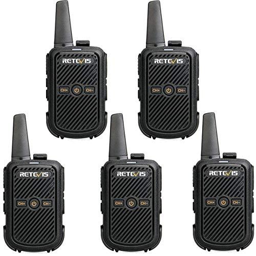 Retevis RT15 Walkie Talkie Mini, 16 CH 50 CTCSS / 208DCS, VOX,...
