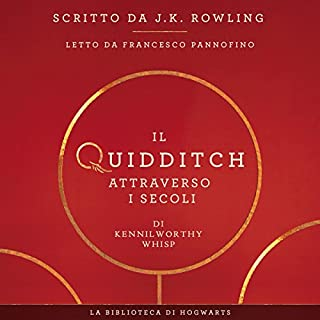 Il Quidditch Attraverso I Secoli copertina