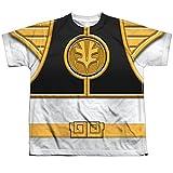 Youth: Power Rangers - White Ranger Kids T-Shirt Size YM