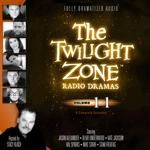 The Twilight Zone Radio Dramas, Volume 11 copertina